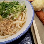 元祖セルフうどんの店 竹清 - 料理写真:竹清うどん+紅しょうが天