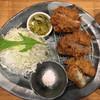 とんかつ 豚ゴリラ - 料理写真:Lunch special incl. Onion, mince and fillet