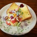 Cafe & Store 楽 - 料理写真:シフォンケーキ