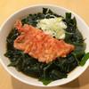 一〇そば - 料理写真:かけそば ¥220 ショウガ天(ハーフ)¥50 ワカメ ¥100