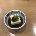 おの庄 - 料理写真:小鉢、揚げ出し豆腐!