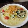 ビストロ グルナッシュ - 料理写真:ウニと夏野菜のクリーム 1490円