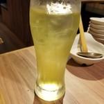 赤から - ドリンク写真:緑茶ハイ