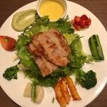 肉と野菜の農家イタリアン アリガト - 料理写真:新鮮野菜の前菜