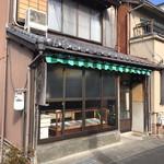 伊賀屋 - 外観・店仕舞い後(⌒-⌒; )