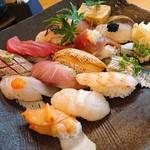 魚心亭 - おまかせにぎり寿司