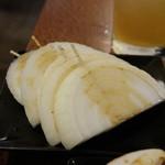 七輪焼肉 炭香 - タマネギ