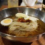 七輪焼肉 炭香 - 冷麺