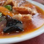 上海 - 豚肉・揚げ豆腐の辛し煮定食