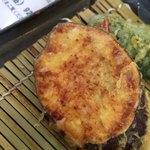 天ぷら家 てんてん - てんてん定食 さつまいも