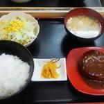 Ranchihausu - ハンバーグ定食 380円