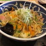 夢庵 - 料理写真:・野菜たっぷりタンメンうどん