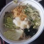 大作 - 料理写真:おろしタヌキ蕎麦(冷)650円