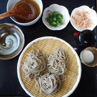 けんぞう蕎麦 - 料理写真:3合そば1620円