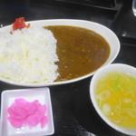 炭火焼肉・中華そば 天膳 - カレーライス