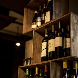 お酒は全て原価でご用意ハイボール60円からワイン150円など