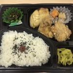 京香 - 料理写真:唐揚げと塩鯖