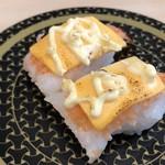 はま寿司 - チーズ溶けてない^^;