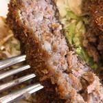 洋食すいす - 揚げ加減バッチリ