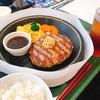 東京武蔵ハンバーグ - 料理写真:100%ビーフ肉塊ハンバーグ200g