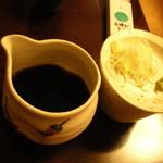 板そば 喜右衛門 - 基本の蕎麦汁 200円