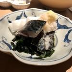 マグロ 日本酒 吟醸マグロ - 酢サバ
