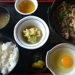 お食事 しもじ - 料理写真: