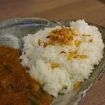尾木カリー - ご飯