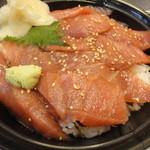 10965107 - 特選マグロ漬け丼@500円です(期間限定)