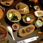 里湯昔話・雄山荘 - 朝食。