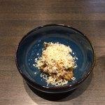 109655147 - ナスとインゲン豆 玉ねぎのピューレ