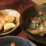鮨政 - 煮付けと焼き魚