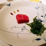 Aroma Fresca Nagoya - 和牛のビステッカ アロマフレスカ風