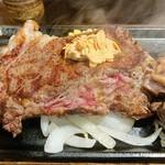 いきなりステーキ - リブロース(400g)。