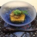 岡むら・味匠 - 料理写真:卵豆腐の煮こごり和え、蛸入り。