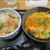 うどん和匠 - 料理写真:カツ丼セット