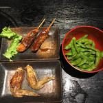 やきとり居酒屋しんちゃん 金山駅前店 - 手羽先・串カツ・枝豆