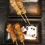 やきとり居酒屋しんちゃん 金山駅前店 - 焼き鳥(塩・タレ)