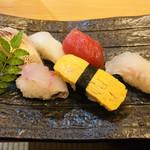 鮨いしかわ - 握り寿司
