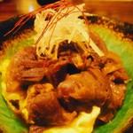 シカとイノシシ 野生 - 鹿スジ煮