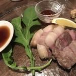 シカとイノシシ 野生 - 猪ロースステーキ