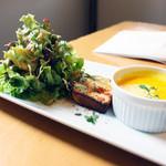 51CAFE - パスタランチ(900円)の前菜