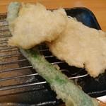 天ぷら 一修 - 白身魚・インゲン・とり