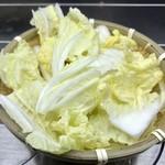 NANI 回転小火鍋 - 野菜¥100(外税)