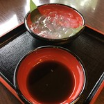 団ぷ鈴 - 葛きりと黒蜜