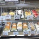 たまご色のケーキ屋さん - 商品ラインナップ 訪問時期は3月下旬