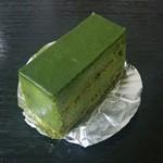 洋菓子舗 茂右衛門 - 抹茶とホワイトチョコレートのテリーヌ@650円