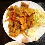 張家 - 生姜焼き
