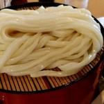 田中屋 - 【2019.6.15(土)】うまかうどん(もりうどん二枚)1,000円の麺