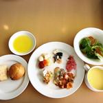 タラソカフェ - 料理写真:ランチについてるバイキングセット